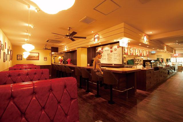 「ブルーシール  店内 レトロ 」の画像検索結果